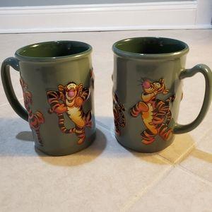 Walt Disney tigger mugs